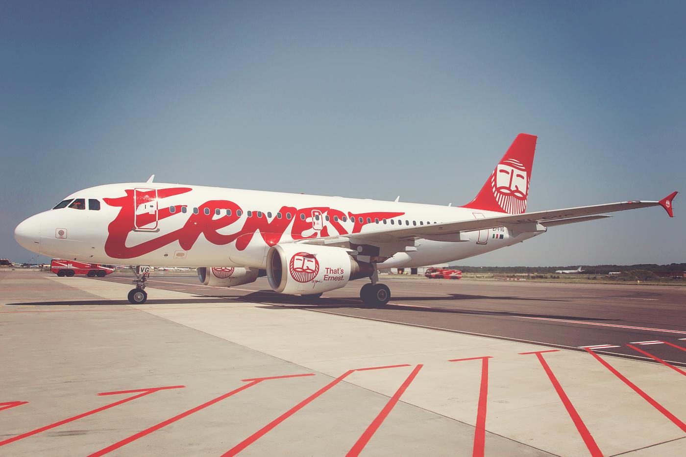 Resultado de imagen para ernest Airlines