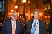 From left to right: ENAC President, Nicola Zaccheo and director general Alessio Quaranta at the promotional initiative of Italy on September 25 in Montreal for the 40th general assembly of ICAO  (September 24-October 4, 2019)