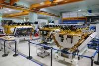 Satellite in the O3b constellation built by Thales Alenia Space
