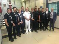 "Isotta Fraschini Motori (Fincantieri): facility in Bari on June 11, 2019,  the ""1000-Hour Certification"" for its 16V170C2ME diesel generator system"
