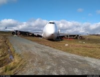 Boeing B-747/400F crashed at Halifax airport