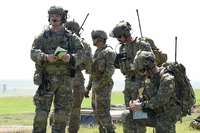 Task Force 4th Wing: first month of mission for the Eurofighter airplanes in Romania. Index photos of the NATO mission
