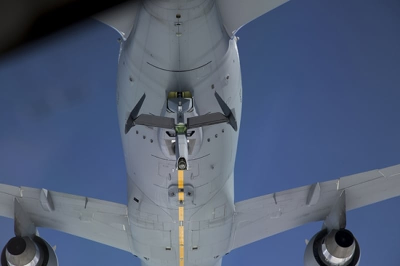 Air force refueling aircraft magnificent