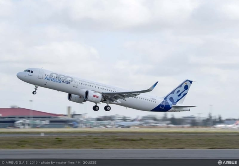 AVIONEWS - A321neo powered by CFM LEAP-1A engines receives type ...